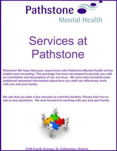 Pathstone Mental Health Orientation Package cover